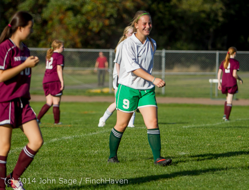 5512 Girls JV Soccer v NW-School 100814