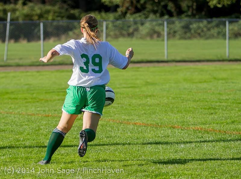 5525 Girls JV Soccer v NW-School 100814