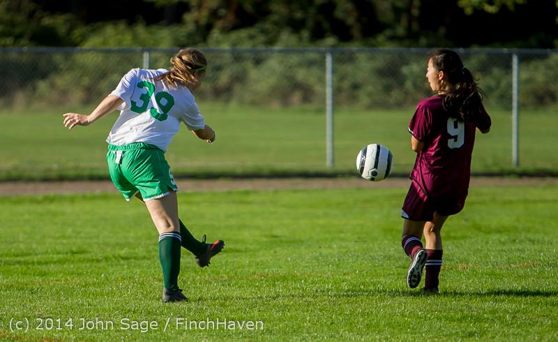 5535 Girls JV Soccer v NW-School 100814
