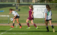 5543 Girls JV Soccer v NW-School 100814