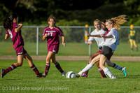 5570 Girls JV Soccer v NW-School 100814