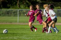 5575 Girls JV Soccer v NW-School 100814