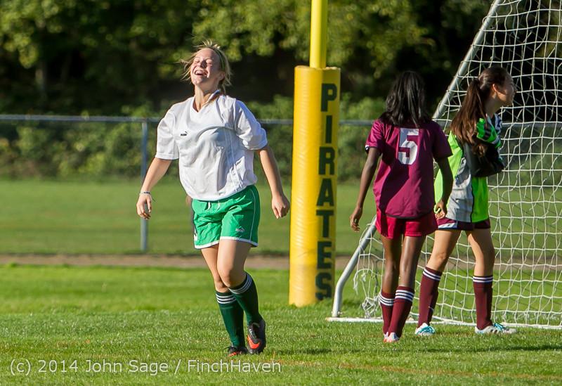 5613 Girls JV Soccer v NW-School 100814