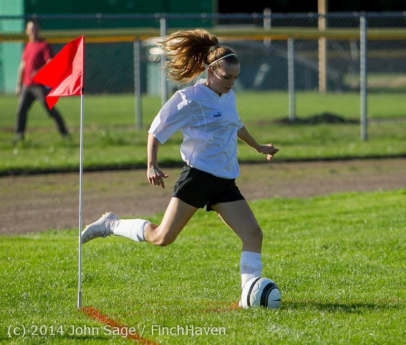 5615 Girls JV Soccer v NW-School 100814