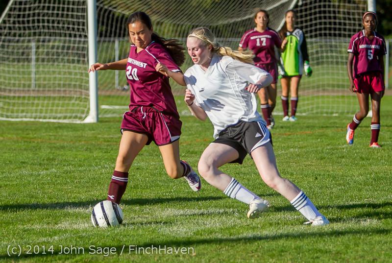 5630 Girls JV Soccer v NW-School 100814