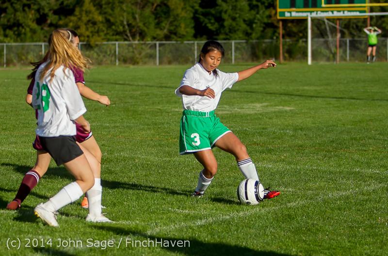 5676 Girls JV Soccer v NW-School 100814