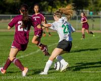 5702 Girls JV Soccer v NW-School 100814
