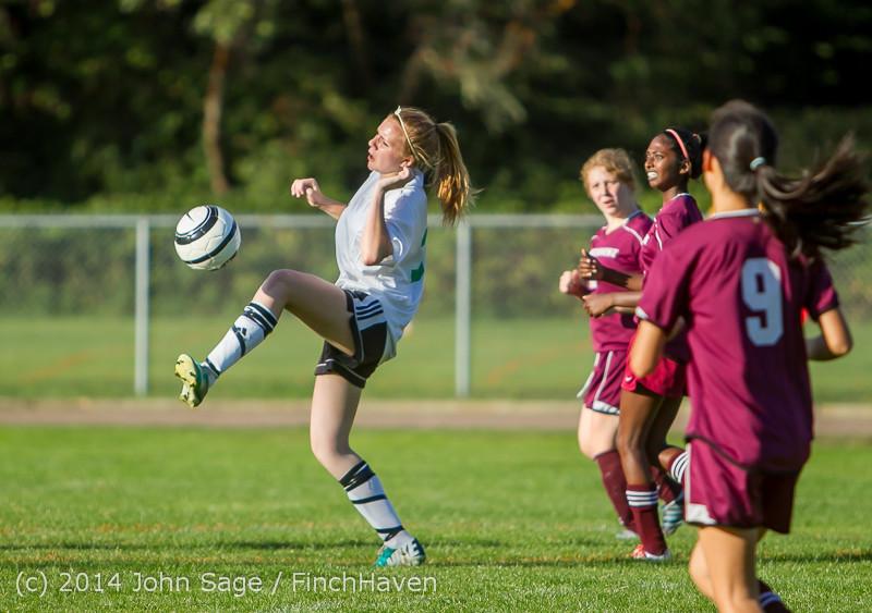 5714 Girls JV Soccer v NW-School 100814