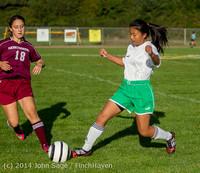 5735 Girls JV Soccer v NW-School 100814