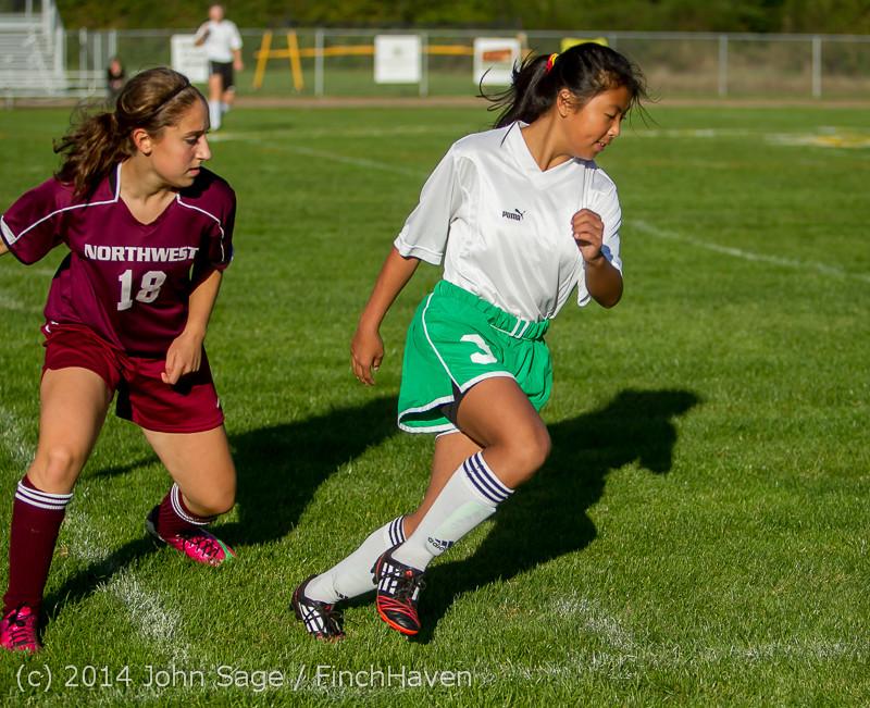 5743 Girls JV Soccer v NW-School 100814