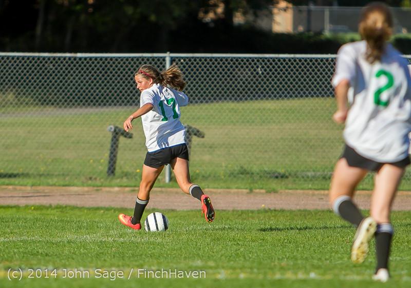 5773 Girls JV Soccer v NW-School 100814