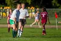 5787 Girls JV Soccer v NW-School 100814