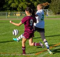 5811 Girls JV Soccer v NW-School 100814