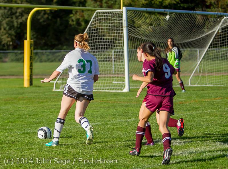 5822 Girls JV Soccer v NW-School 100814