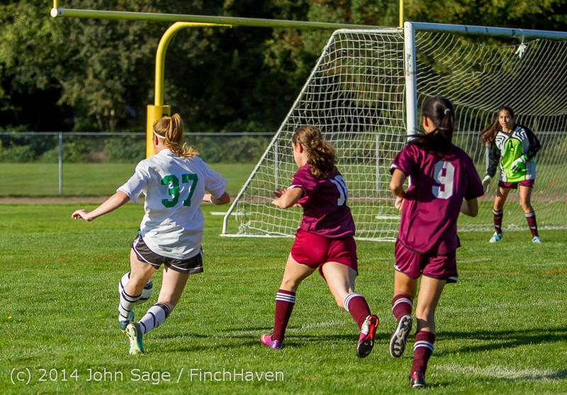 5825 Girls JV Soccer v NW-School 100814
