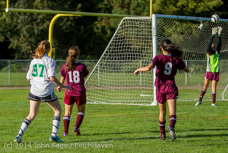 5833 Girls JV Soccer v NW-School 100814