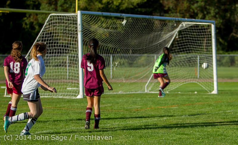 5839 Girls JV Soccer v NW-School 100814