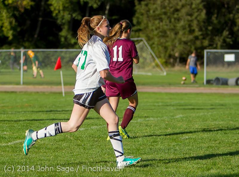 5851 Girls JV Soccer v NW-School 100814