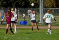 5886 Girls JV Soccer v NW-School 100814