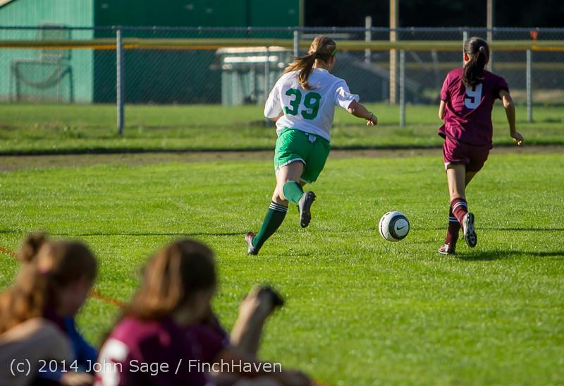 6014 Girls JV Soccer v NW-School 100814