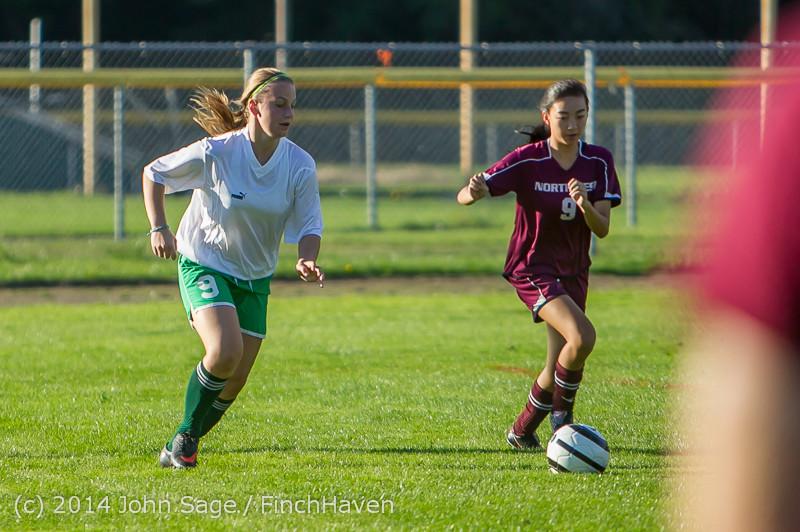 6025 Girls JV Soccer v NW-School 100814
