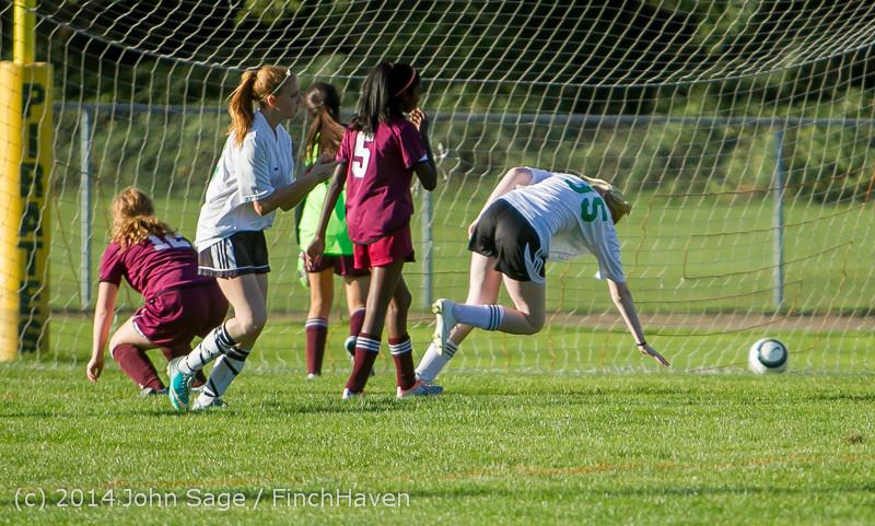 6059 Girls JV Soccer v NW-School 100814