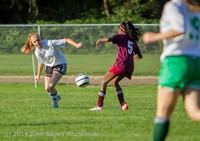 6120 Girls JV Soccer v NW-School 100814