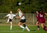 6320 Girls JV Soccer v NW-School 100814