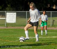 6346 Girls JV Soccer v NW-School 100814