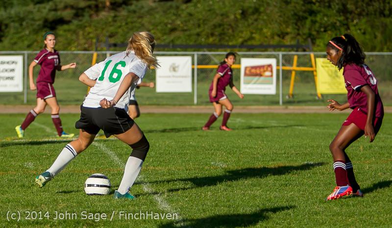 6354 Girls JV Soccer v NW-School 100814