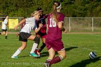 6357 Girls JV Soccer v NW-School 100814