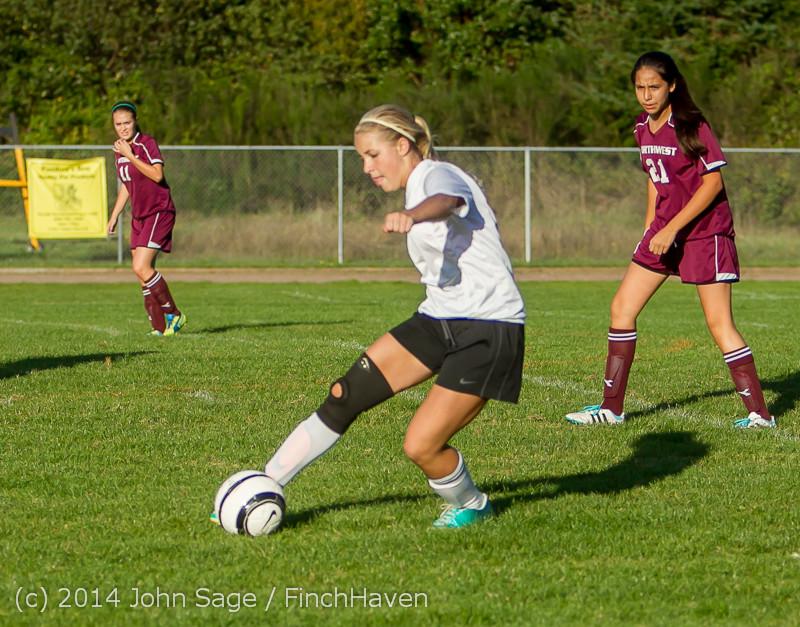 6364 Girls JV Soccer v NW-School 100814