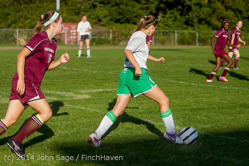 6370 Girls JV Soccer v NW-School 100814
