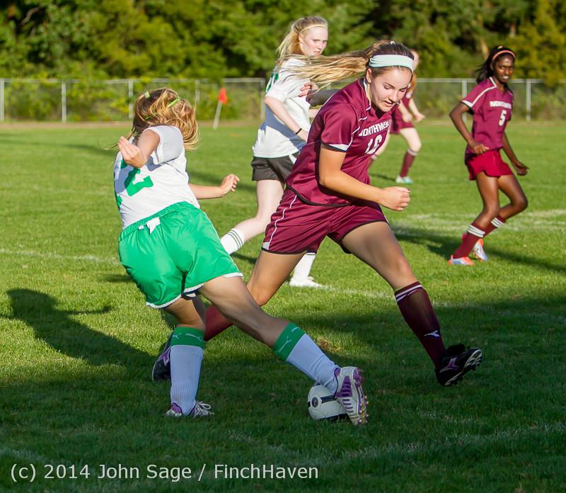6387 Girls JV Soccer v NW-School 100814