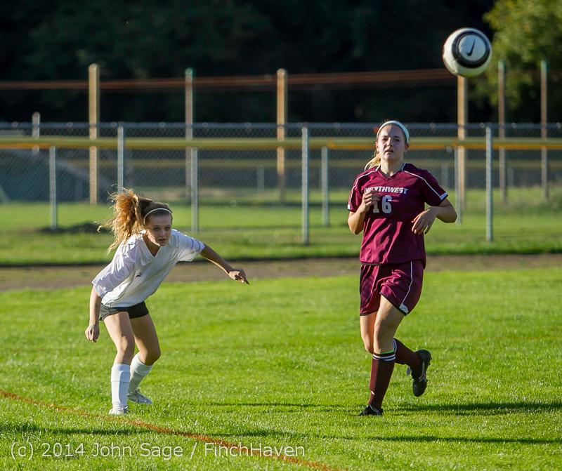 6427 Girls JV Soccer v NW-School 100814