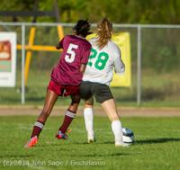 6440 Girls JV Soccer v NW-School 100814