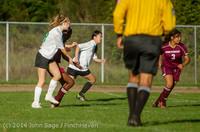 6454 Girls JV Soccer v NW-School 100814