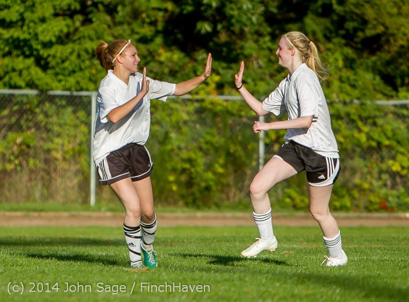 6470 Girls JV Soccer v NW-School 100814