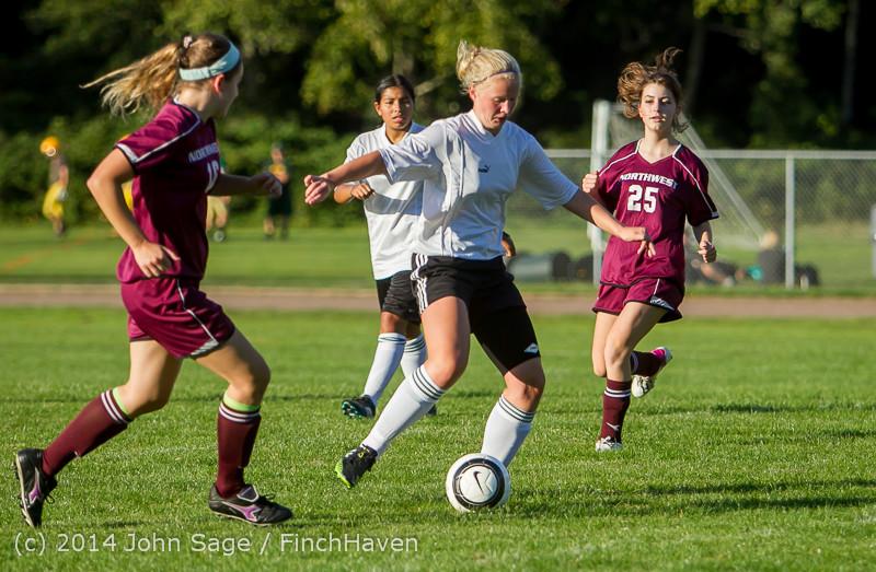 6480 Girls JV Soccer v NW-School 100814