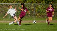 6514 Girls JV Soccer v NW-School 100814
