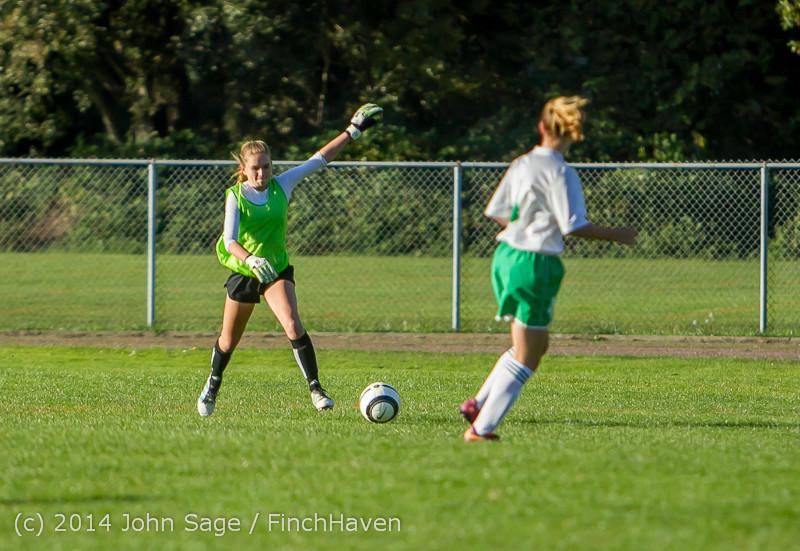 6527 Girls JV Soccer v NW-School 100814