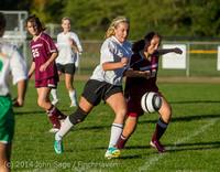 6599 Girls JV Soccer v NW-School 100814