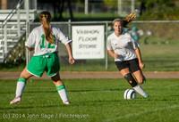 6611 Girls JV Soccer v NW-School 100814