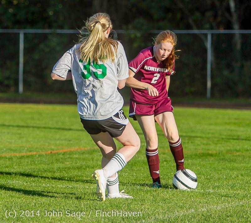 6645 Girls JV Soccer v NW-School 100814