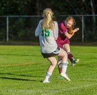 6646 Girls JV Soccer v NW-School 100814