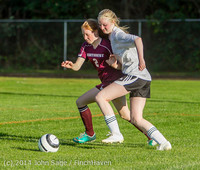 6657 Girls JV Soccer v NW-School 100814