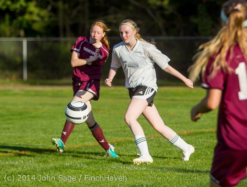 6660 Girls JV Soccer v NW-School 100814