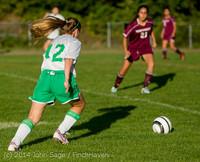 6674 Girls JV Soccer v NW-School 100814