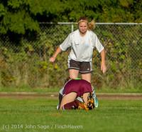 6703 Girls JV Soccer v NW-School 100814