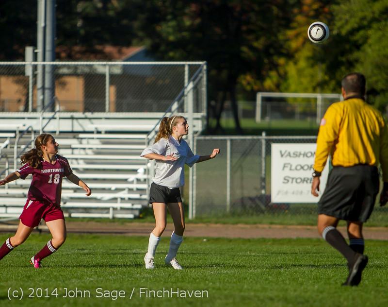 6707 Girls JV Soccer v NW-School 100814
